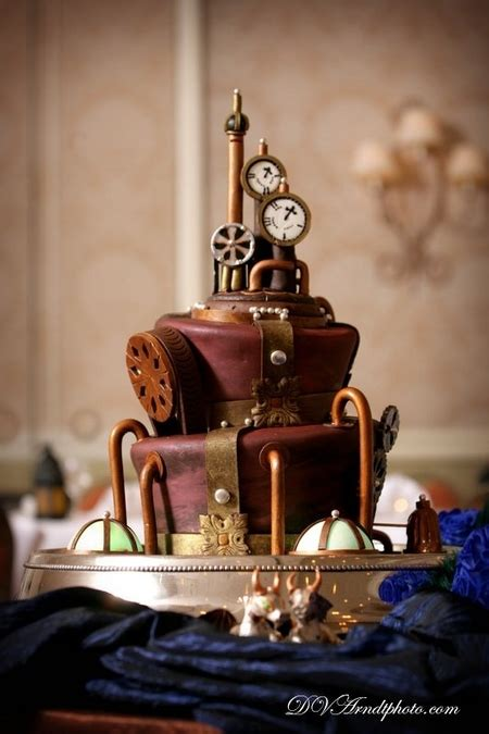 Cake Wrecks Home 12 Swoon Worthy Steampunk Sweets
