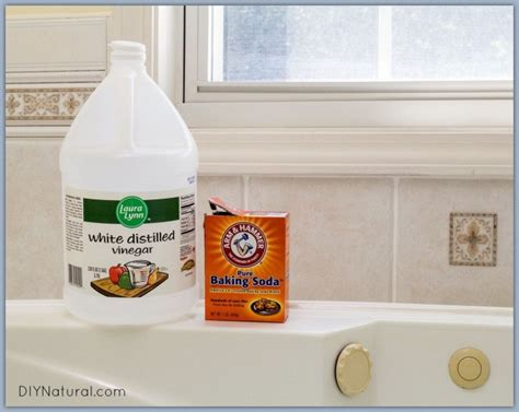natural bathroom cleaner baking soda vinegar 13 simple bathtub cleaning tips for totally gunky tubs