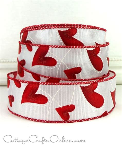 wired ribbon crafts 17 best images about cottage crafts ribbon on valentines cottage crafts