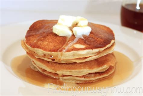 Handmade Pancakes - buttermilk pancakes recipe finding our way now