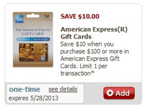 Amex Gift Card Coupon - safeway 10 off 100 american express gift card coupon norcal coupon gal