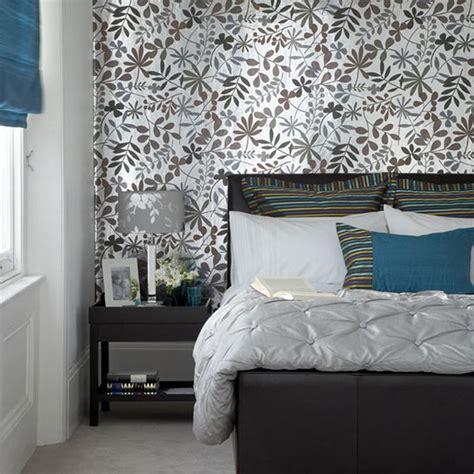 Wallpaper Design Ideas For Bedrooms Decoraci 243 N De Dormitorios Con Papel Pintado Tul De Seda