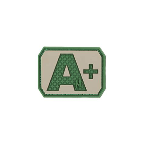 Rubber Pvc Patch Blood Type Ab Pos 1 a pos blood type patch