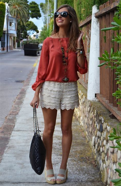 Dress Chike Maroon this summer get a and wear the lovely crochet shorts