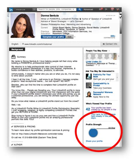 Profile Summary Resume Examples by 7 Easy Ways To Improve Your Linkedin Profile Strength