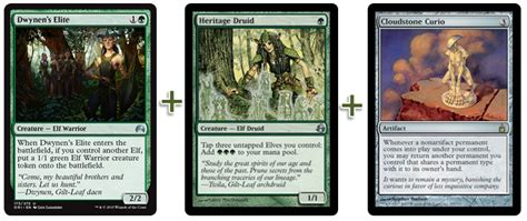combo elves vizier devoted druid curio and intruder alarm deck creation - Mtg Instant Win Combos