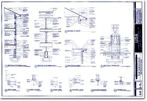 wall blueprints uda sle construction documents