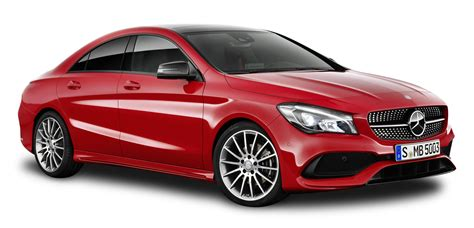 Red Mercedes Benz Cla Car Png Image Pngpix