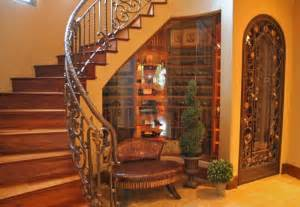 wine cellar stairs love glassed in wine cellar under stairs with decorative