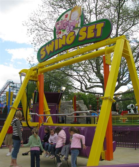 swing sally up swing sally down newsplusnotes dorney park opens planet snoopy