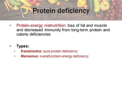 protein 6 deficiency chapter 6 proteins amino acids ppt