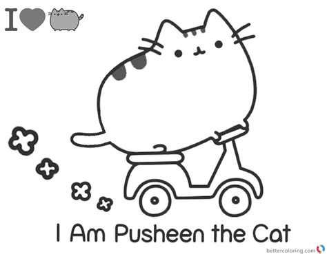 i coloring pusheen coloring pages i m pusheen the cat free