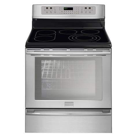 stainless steel range 23963986 frigidaire professional 6 cu ft electric range stainless steel