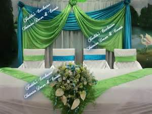 Teal Blue Chair Sashes Lime Green And Turquoise Wedding Events Weddings