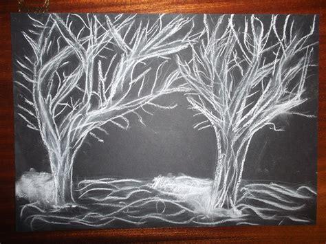 imagenes para dibujar en cartulina negra dibujo con ceras blancas en cartulina negra el blog de