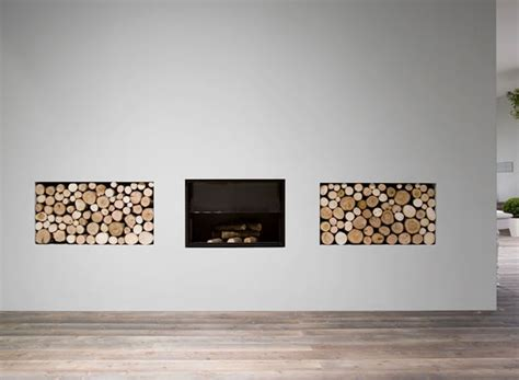 How To Stack Wood In Fireplace by 29 Artful Interiors Using Stacked Wood As A Design Element
