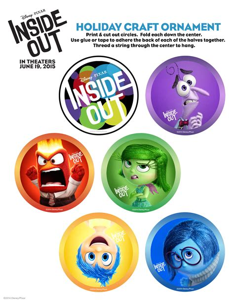 disney pixar inside out free printables printable disney activity sheets for inside out