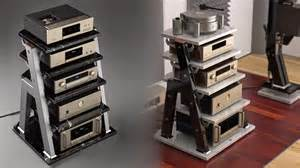 Audio Racks And Stands Mono And Stereo High End Audio Magazine Jtl Audio Stv1 Stv2 And Stv3 High End Audio Rack Models
