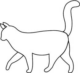 Cat Outline by Cat Outline Cliparts Co