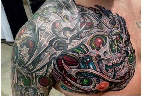 redwave tattoo biomech covered tribal by yelp