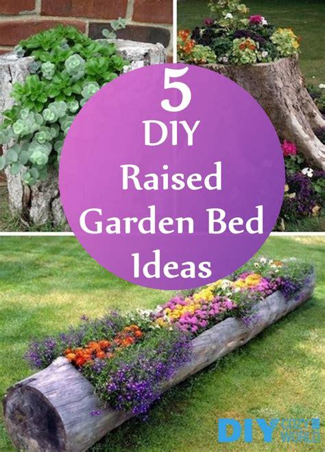 Diy Garden Bed Ideas 5 Amazing Diy Raised Garden Bed Ideas Diycozyworld Home Improvement And Garden Tips