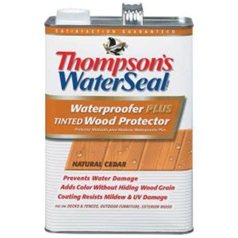 thompsons waterseal  gal natural cedar waterproofer