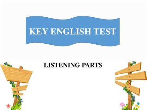 ket listening test ket listening overview