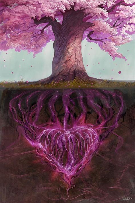 a cherry tree meaning symbolism of marriage digital by steve goad