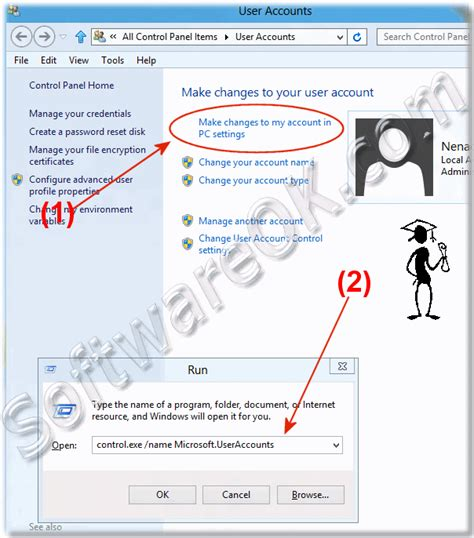 windows 8 reset password account how to change the windows 8 user password remove or create