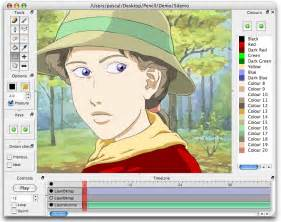 Cartoon Drawing Software pencil recreates the traditional style of animating on your computer
