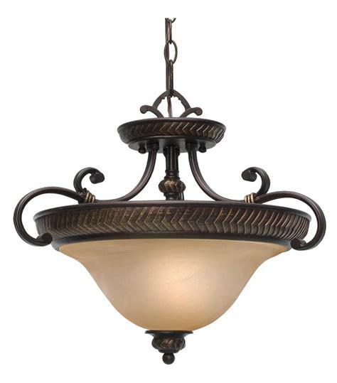three light pendant ceiling fixture golden etruscan bronze three light convertible bowl