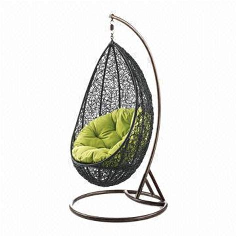 outdoor egg swing chair outdoor furniture rattan egg swing chair with comfortable