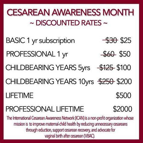 c section awareness month cesarean awareness month 2015 ican of northern virginia