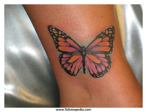 tattoo butterfly with initials tony baxter