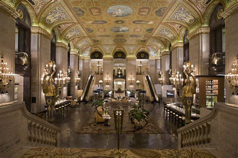 Wine And Spirits Travel Palmer House Hilton Elegance Of Europe In Downtown Chicago