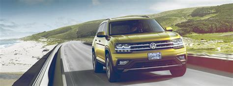 volkswagen atlas cargo volume  towing capacity
