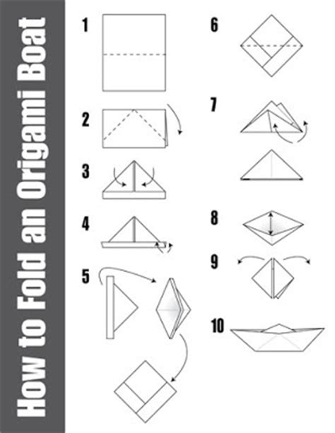 Origami Boat Building - robert origami boat building how to building plans