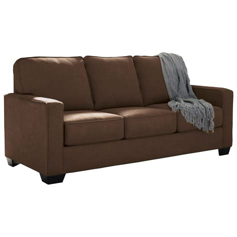 full sofa signature design by ashley zeb full sofa sleeper with