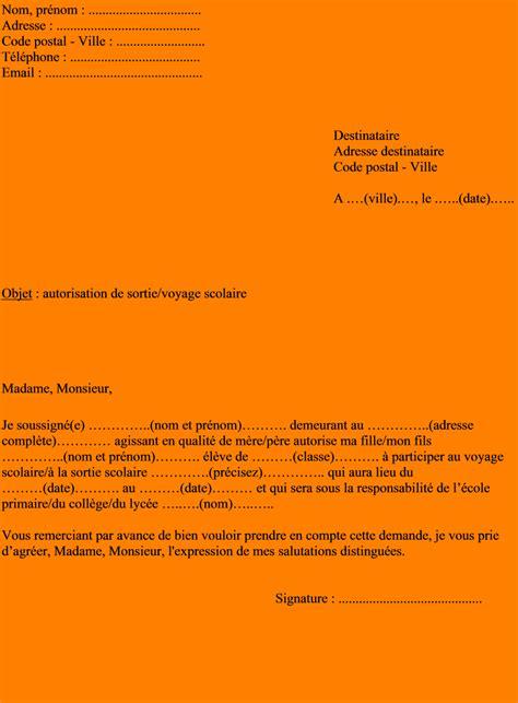 Exemple De Lettre De Demande D Autorisation D Absence 10 Lettre D Autorisation Lettre De Demission