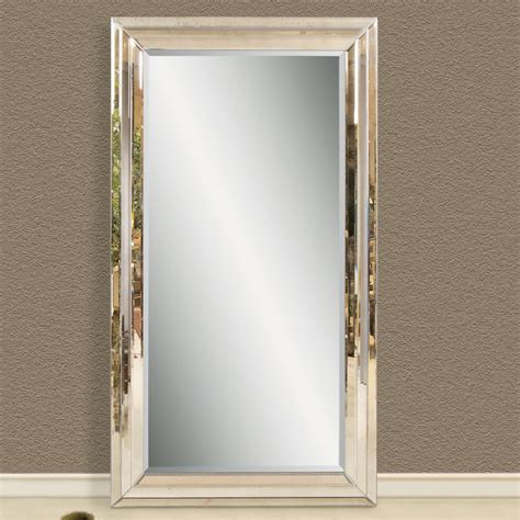 extra large floor mirrors have heavy frames for good