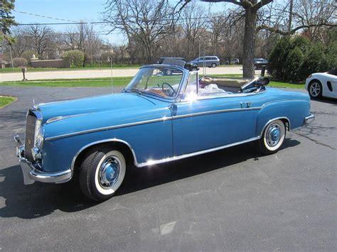 1957 mercedes 220s 1957 mercedes 220s cabriolet for sale 1832430