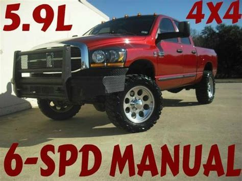 electric and cars manual 2007 dodge ram 2500 security system find used 2007 dodge ram 2500 4x4 5 9l diesel 6 spd manual in gainesville texas united