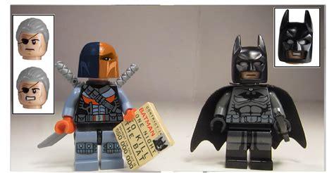 Lego Minifigure Heroes Deathstroke Stroke Weapon lego ideas lego batman arkham origins batwing smash up