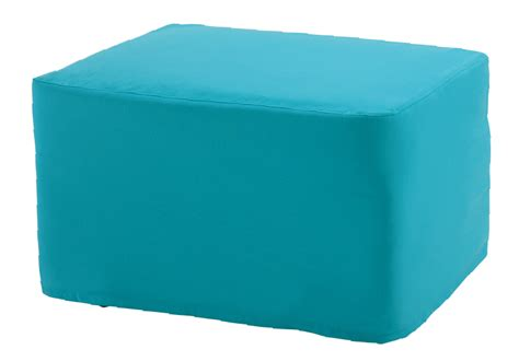 turquoise slipcover ottoman with turquoise veranda slipcover castro convertibles
