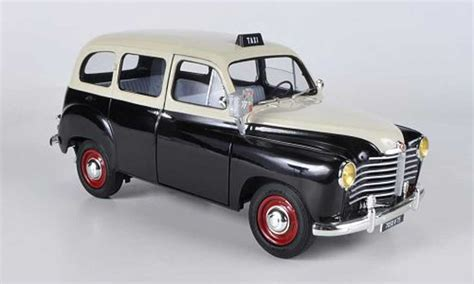 Taxi Auto Kaufen by Renault Colorale Taxi Schwarz Beige 1953 Solido Modellauto