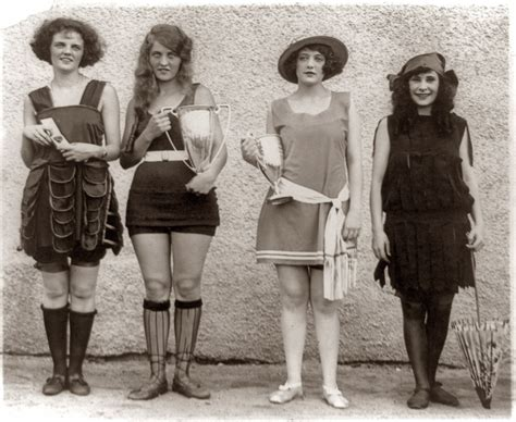 what year was the hairstyle the prohibition become popular arrested for their bathing suits