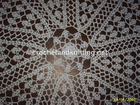 pattern crochet lace tablecloth 10 best images of lace knitting patterns free beginner
