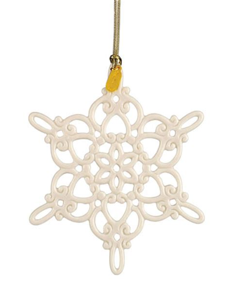 lenox twelve days of christmas snowflake ornaments lenox 2014 snow fantasies snowflake ornament womens fashion fair