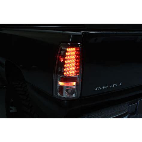 03 06 chevy silverado led altezza lights black