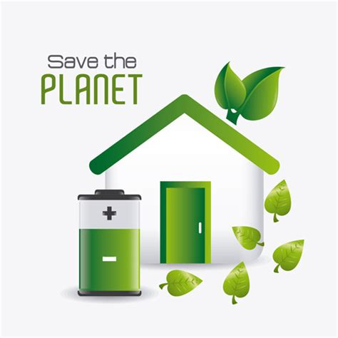 eps format save save planet eco template vector set 03 free download